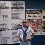 Cartel actuaciones del 27 agosto