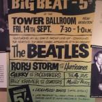 Cartel anunciador - Oficina del Mersey Beat