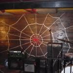 Escenario posterior del Casbah Coffe Club donde tocaban The Beatles