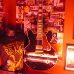 Guitarra de B.B. King firmada