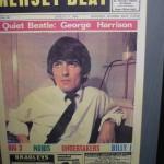 Portada del Mersey Beat con George