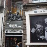 The Beatles Shop en Mathew Street