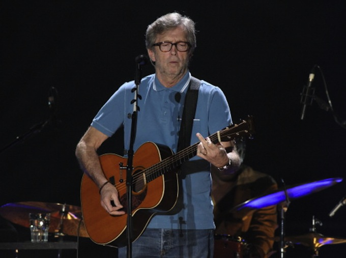 Eric Clapton Performs In Munich