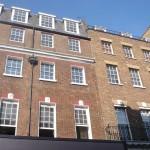 Casa con el Nº 3 de Savile Row lugar del concierto de The Beatles