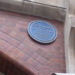Edificio de Wardour Street. Placa en recuerdo de Keith Moon en el antiguo Marquee Club
