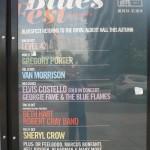 El Royal Albert Hall y cartel de octubre