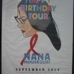 El Royal Albert Hall y el Cartel de Nana Mouskouri de septiembre