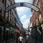 Entrada a Carnaby Street