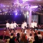 Un salón del Royal Festival Hall concurso de baile juvenil