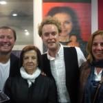 Dean, Elvira, David y Lola