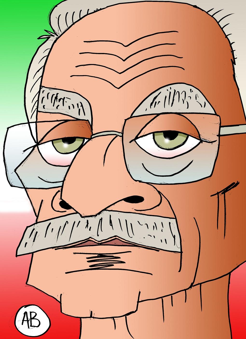Enzo Pesce con fondo