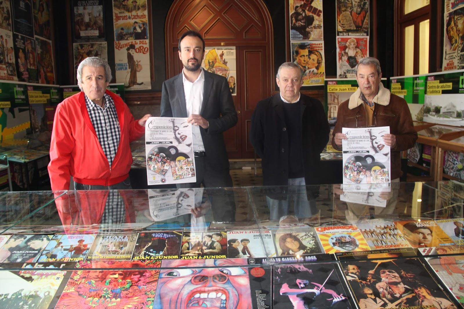 LALO CUEVAS - Exposicion de programas de mano, vinilos y cds