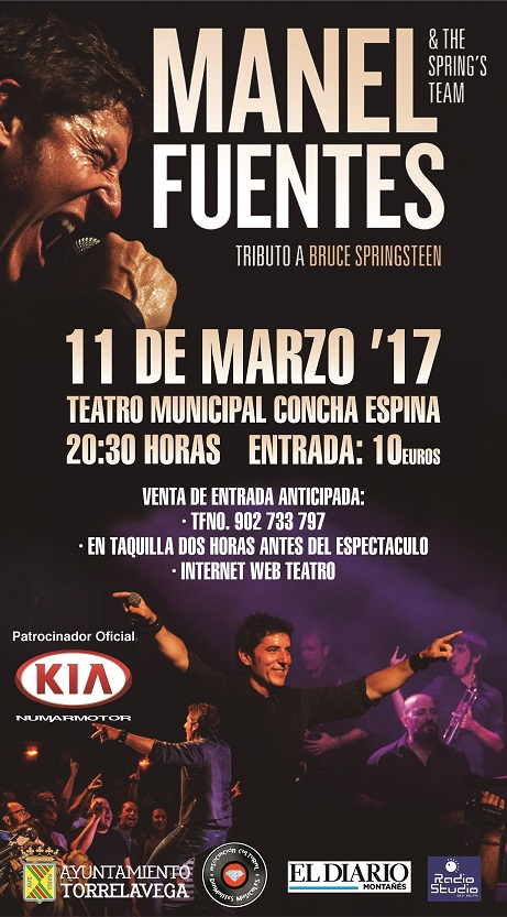 Cartel Manel Torrelavega 11 marzo 2017